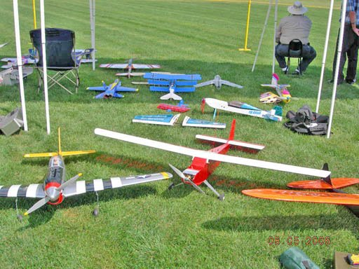 Planes of all colors and sizes fly at the field. There's one common thread: They're powered by electricity, not gasoline. The Electric Powered Aeromodelers Club's fun fly at Maalwyck Park isn't just confined to the flying field, giving people more room to spread out, Hackert said.