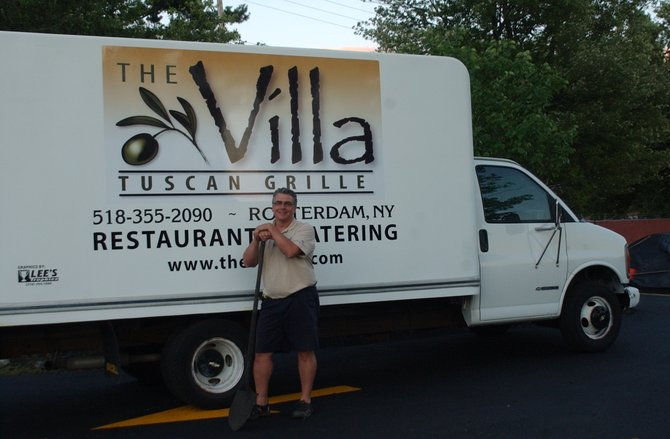 Peter Guidarelli is rebranding his restaurant, formerly Roman Villa, to The Villa to adapt to changing customer habits.
