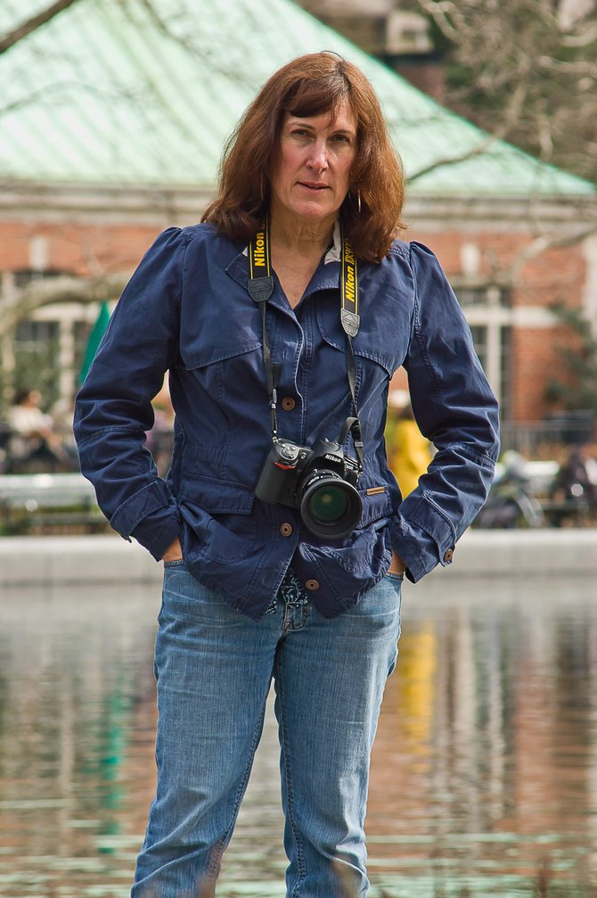 "Marie Triller, a photographer from Albany, shot pictures at Ground Zero for 10 years. Those images are now a book, ""10 Years: Remembering 9/11."""