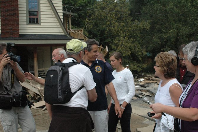 A day after Gov. Andrew Cuomo met with residents in Keene, Pres. Barack Obama signed a bill declaring Essex County as a major disaster area and Clinton County as a disaster area, opening up funding for municipalities as well as private homeowners and businesses.