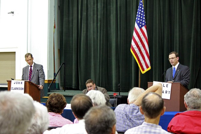 Candidates in the Democratic primary for Bethlehem supervisor met in debate on Thursday, Sept. 1.