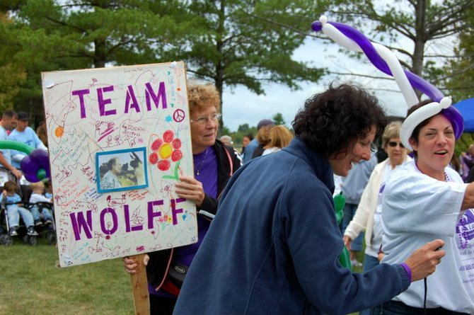 The 8th Annual Albany Capital District Walk for Hope to battle pancreatic cancer steps off on Sunday, Sept. 11, from Bethlehem's Elm Avenue Park. Last year, 400 people participated and raised over $100,000 to donate to the Lustgarten Foundation.