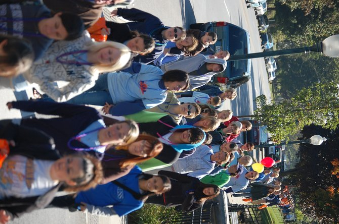 The walk raises money for research, education and outreach.