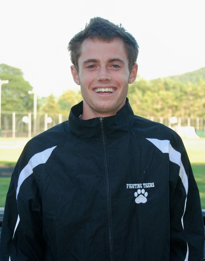 Voorheesville High School graduate Conor Cashin now runs cross country for SUNY Cobleskill.