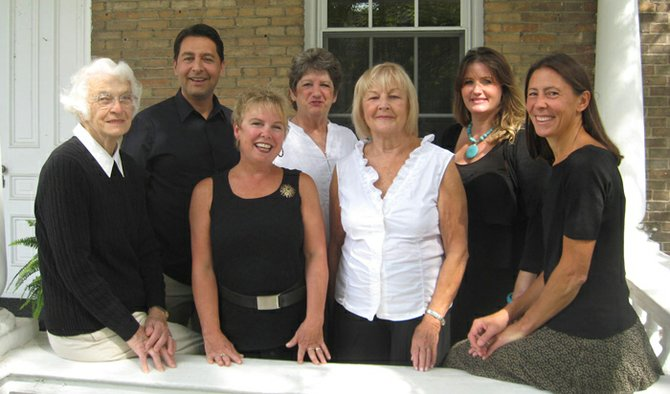 The Williams Realty team, from left, Grace Snook, Zachary Belil, Gail Brewer, Pat Snyder, Janet Tardiff, Molly Elliott and Renee Dwyer.