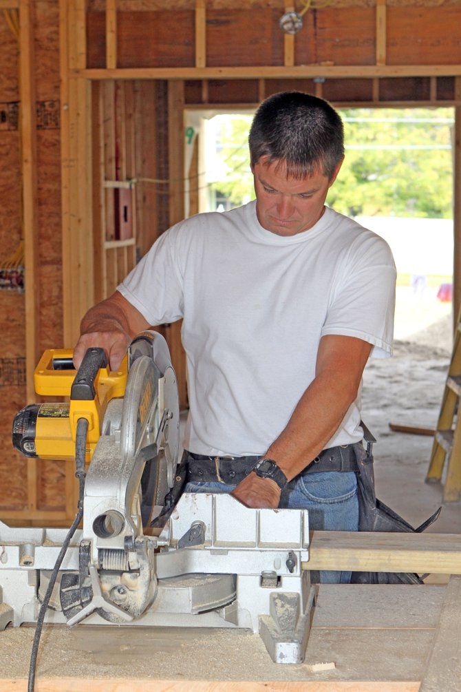 The Ticonderoga Emergency Squad is building a new 4,100 square feet home at the site of the former Ticonderoga Civic Center between The Portage and Lake Champlain Avenue. Don Paige is the lead contractor.
