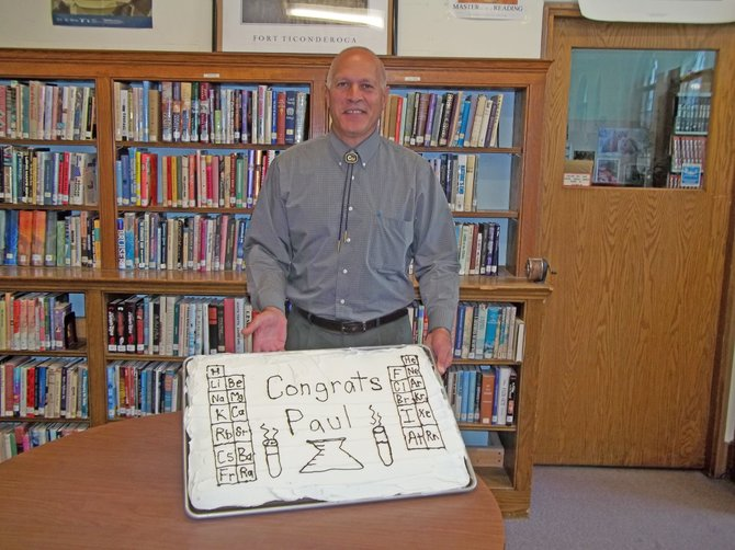 Paul Jebb, who teaches chemistry and physics at Ti High, has been named a 2011 Educator of Excellence by the New York State English Council for inspiring his students and colleagues.
