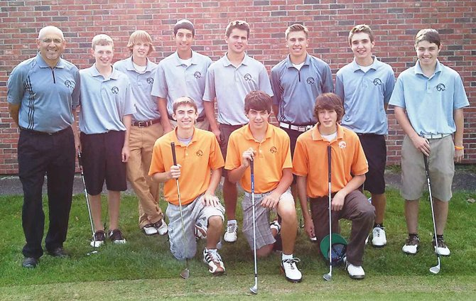 The Bethlehem golf team won the Suburban Council Tournament title Thursday, Sept. 22.