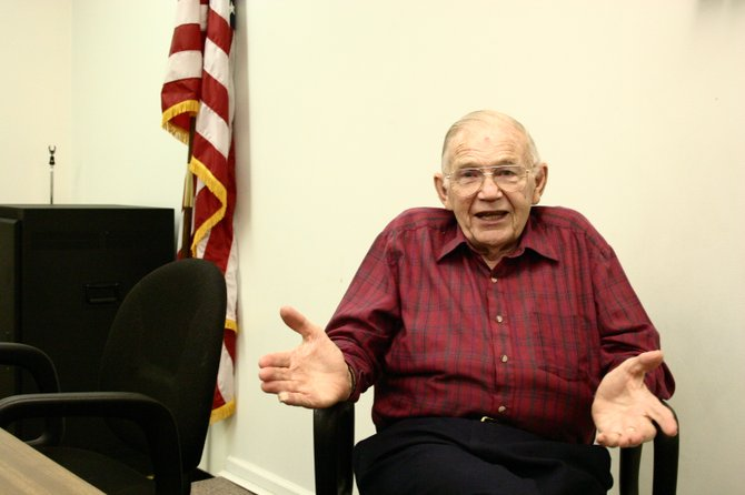 Warrensburg Town Justice Richard Nissen talks about his quarter-century of service to the town and the changes he's seen through the years.
