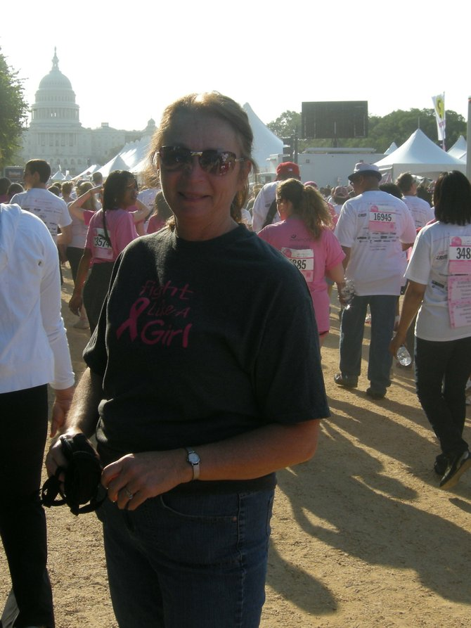 Barbara Wayman was diagnosed with breast cancer at age 46 and is a 14-year survivor.