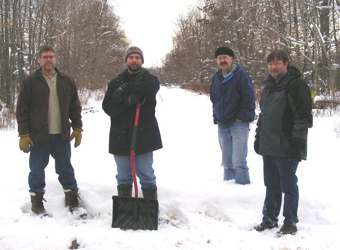 Two Hour Delay's Brian Welch, Tim Burns, Bob Gaus and Tom Mattern revel in our robust Upstate environs.