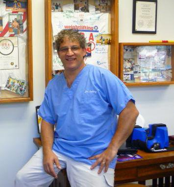 Local chiropractor Dr. Dave Gabay will treat Olympic athletes when they spend time at the U.S. Olympic Training Center in Lake Placid at the end of October.
