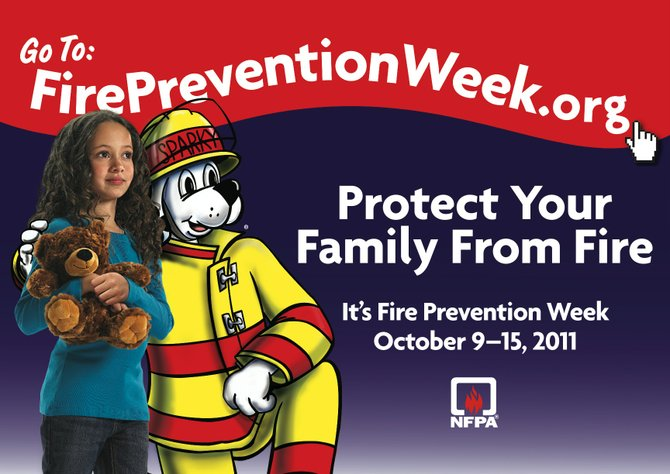 The National Fire Protection Association gives reminders on how to protect against fires during Fire Prevention Week every October.