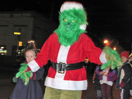 The Grinch wont find unhappy children in the Ticonderoga area this holiday season thanks to the Tiny Tim Christmas Wish Program. 