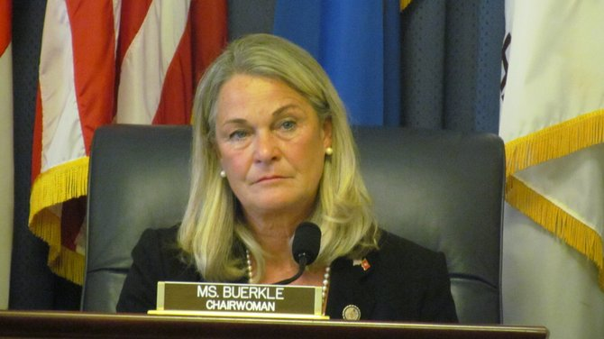 Congresswoman Ann Marie Buerkle (R-25) already faces challengers for the 2012 election.