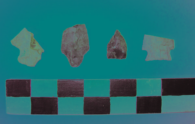 Two archaeologists are putting on a presentation discussing various stone tools found in the Town of Colonie on Saturday, Oct. 29, at the William K. Sanford Library