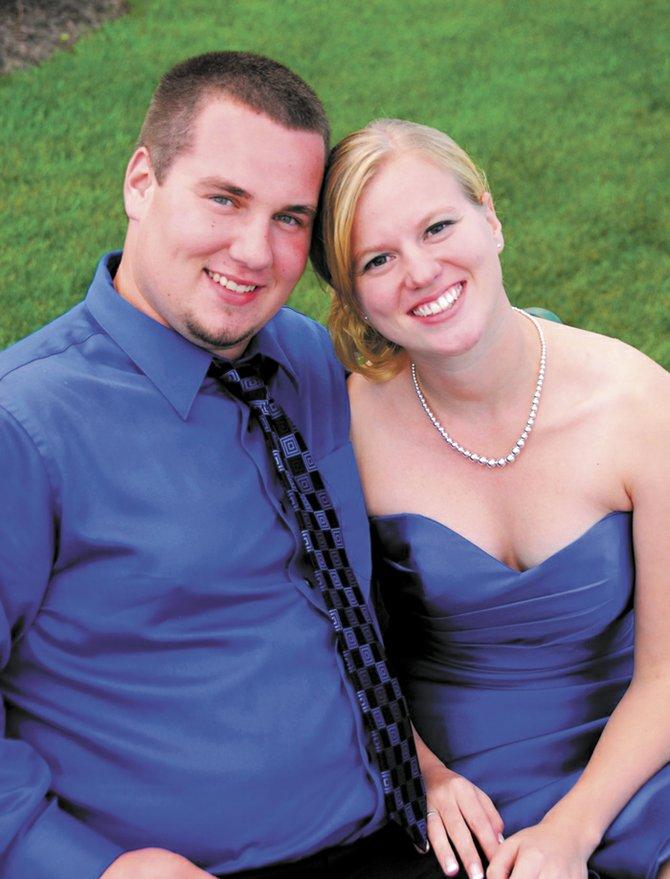 Tyler Dunlap and Elizabeth Pease