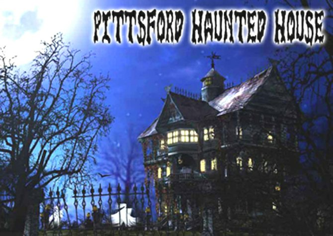 There are plenty of scary corners and rooms in the Pittsford Haunted House: the Crypt Keeper's Chamber, the Pittsford Morgue, Doc's Room, the Executioner's Room and the Big Drum.