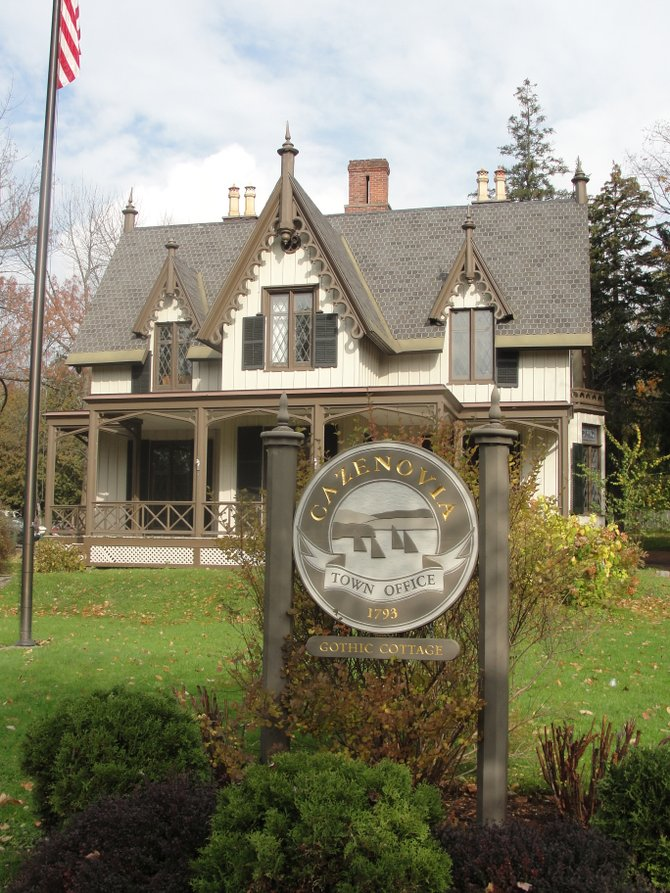 The Town of Cazenovia Office, located in the Gothic Cottage at 7 Albany Street will soon have a new combination of members comprising the town council. Two candidates are vying for the position of town supervisor, and three candidates hope to win two open spots on the town board. Election Day is Tuesday, Nov. 8.