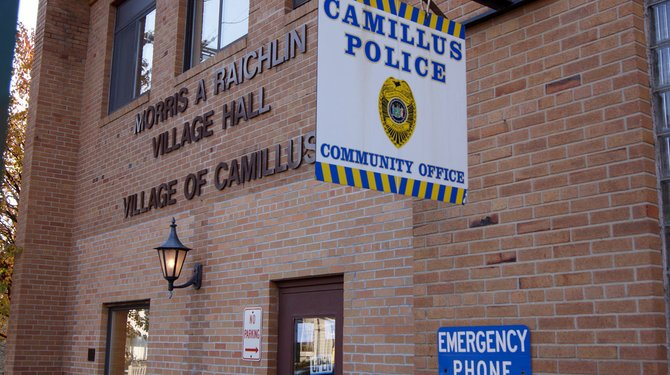 The Camillus Village Offices would be shut down should voters approve a plan for the dissolution of the village.
