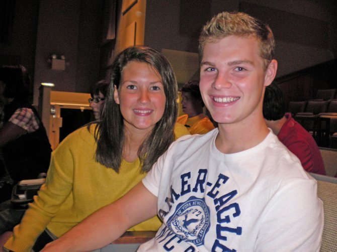 Clare Whitney and Mitchell Beers, Schroon Lake Central School students, are thinking about their futures. North Country Community College will host an education fair on Monday, Nov. 7, from 4-6 p.m. at the NCCC campus in Ticonderoga.