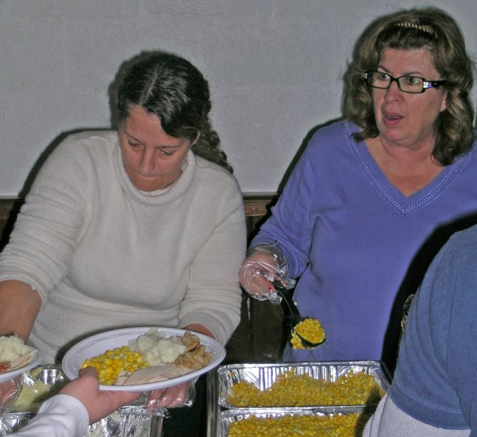 Community dinners to mark Thanksgiving will be held in Putnam, Crown Point and Ticonderoga. Putnam Central School will host a dinner for the community Tuesday, Nov. 22, at 11 a.m. Crown Points dinner will be served at the United Methodist Churchs Fellowship Hall on Creek Road  on Wednesday, Nov. 23. There will be a continuous serving from 4 to 7 p.m. The third annual Miracle on Montcalm StreetAdirondack Dinner Table will be shared Thanksgiving day noon to 3 p.m. at the Ticonderoga fire house. All the dinners are free and open to the public.