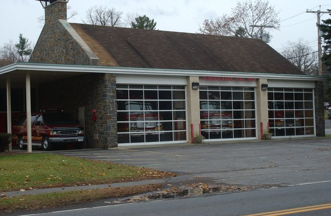 The Slingerlands Fire Department station was opened in 1966. A proposed $1.8 million project would expand the building to allow for more room for equipment, trucks, and storage.
