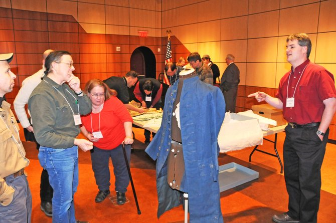 "Fort Ticonderoga's Curator of Collections Chris Fox will speak during the second annual ""Material Matters: It's in the Details"" seminar the weekend of Jan. 28 and 29."