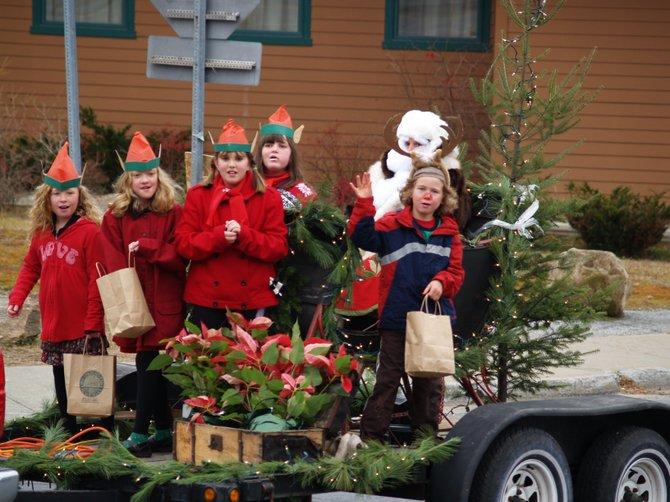 Here are some 2010 participants of the &quot;Lights On&quot; parade in North Creek.