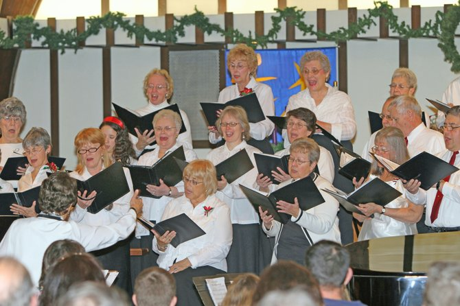 The Champlain Valley Chorale will again present the sounds of the season in Ticonderoga and Schroon Lake. The group will present its annual Christmas concert Friday, Dec. 2, at 7:30 p.m. at Our Lady of Lourdes Catholic Church in Schroon Lake and again Sunday, Dec. 4, at 3 p.m. at the First United Methodist Church on Wicker Street in Ticonderoga.