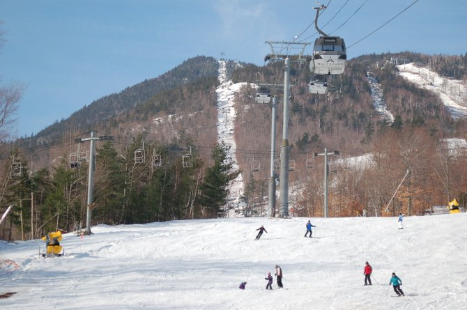 Whiteface Mountain Ski Center in Wilmington opened for the season Friday, Nov. 25.