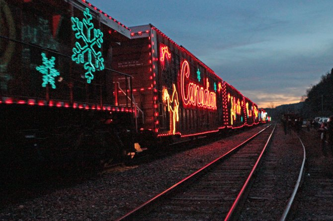 The Canadian Pacific Railway  Holiday Train will again kick off the holiday season in Ticonderoga and Port Henry. The decorated train is scheduled to stop at the Ticonderoga train station at 3:50 p.m.  and at the Port Henry train station at 5:35 p.m. on Monday, Nov. 28.