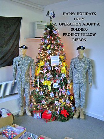 Special holiday donations are needed for service members overseas who won't be home to celebrate with their families.