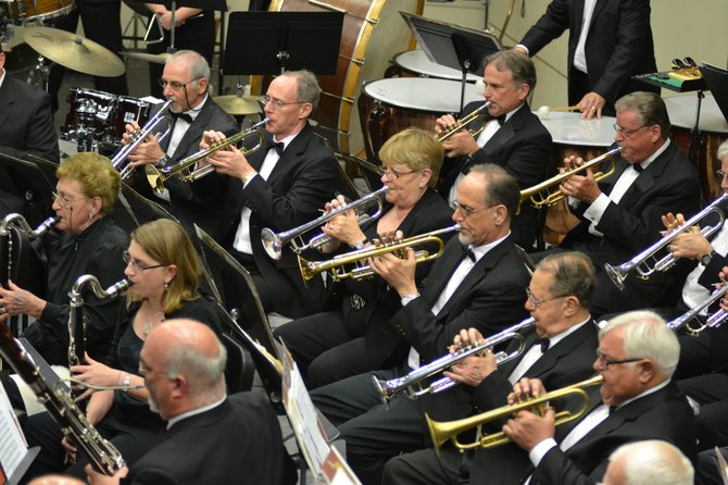 The Memorial Concert Band of Colonie will present a holiday concert on Wednesday, Dec. 14.