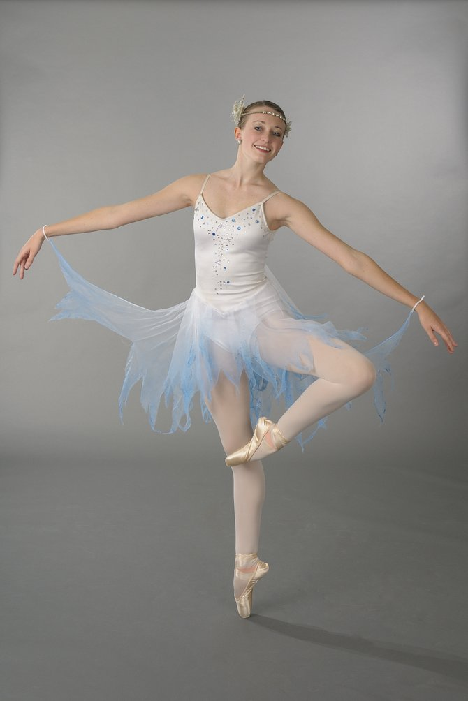 """Chloe Edlestein, a 17-year-old senior at Cazenovia High School, will dance in the leading role of Witch Winter White during the 33rd annual presentation of """"Adventures of Rudolph,"""" at 11 a.m. Saturday, Dec. 10, in the John H. Mulroy Civic Center's Crouse-Hinds Concert Theatre."""