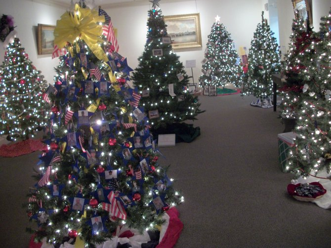 There is a large variety of trees decorated by local businesses and organizations on display during the Festival of Trees at the Schenectady County Historical Society and nearby YWCA until Sunday, Dec. 11. The two groups extended the viewing time by a full week this year due to popular demand.