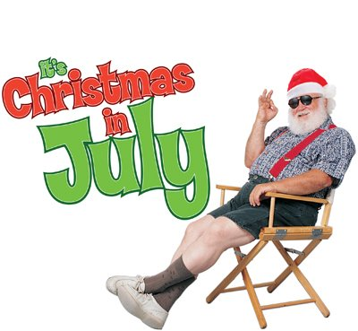The editor proposes Christmas be moved to July.