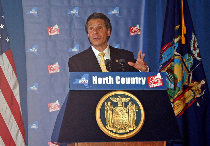 Gov. Andrew Cuomo first announced the creation of the North Country Regional Economic Development Council July 28 at SUNY Potsdam. On Dec. 8 in Albany, he announced that the North Country Council was to receive $103.2 million, the second highest of the 10 economic development councils in the state.