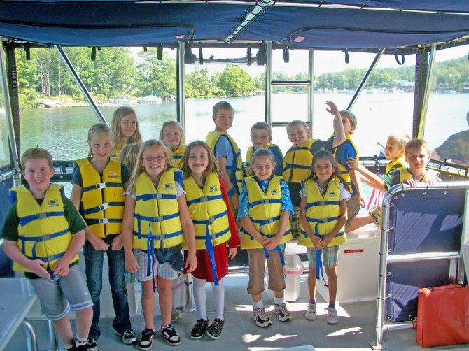 More than 2,000 people came aboard the Lake George Association's floating classroom to learn about lake protection and ecology this year.