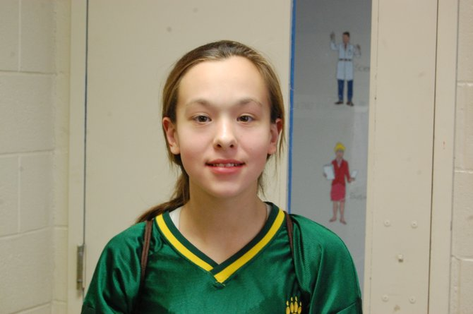 Chelsey Trombley is an eighth grader at Northern Adirondack Central School. She enjoys working on her family's dairy farm and fears proposed changes to labor laws would keep her away from the farm.