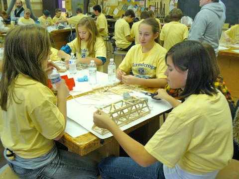 The fourth annual Kiwanis Bridge Building Contest will be held in Ticonderoga.