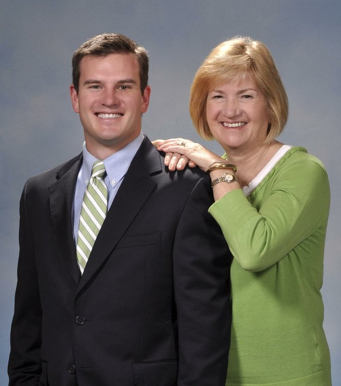 Cazenovia resident Mark Stevens, left, and his mother Jane have combined forces at Hunt Real Estate to better serve Cazenovia, Manlius, Chittenango and the surrounding area.