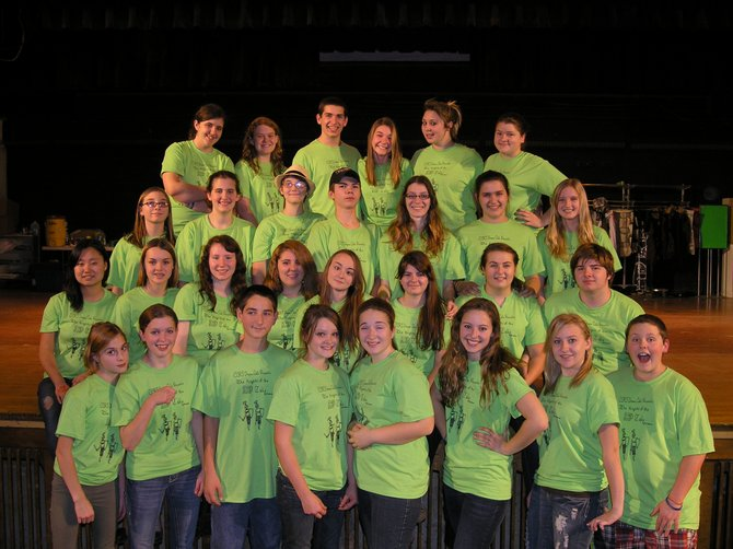 The Chazy Central Rural School drama club alternates between a trip to New York City and a production. This year they produced and performed The Knights of the Rad Table by Pat Lydersen.