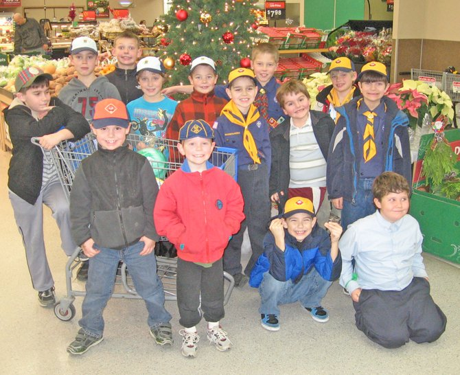 Ticonderoga Cub Scout Pack 72 recently purchased for toys for the Tiny Tim Christmas Wish Program.  The boys picked out and purchased over $110 in toys to be donated to the Tiny Tim program, which serves needy children in the community. Increasing childhood poverty in the region is streesing services such as Tiny Tim.