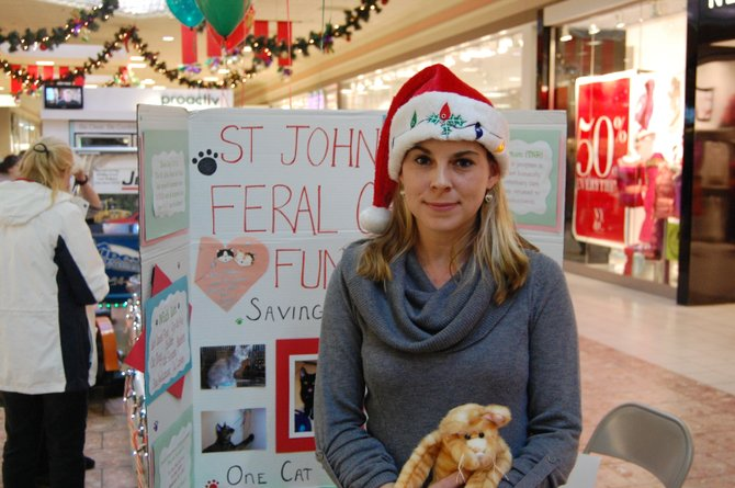 Victoria St. John recently held a holiday fundraiser to help with her animal-rescue efforts.