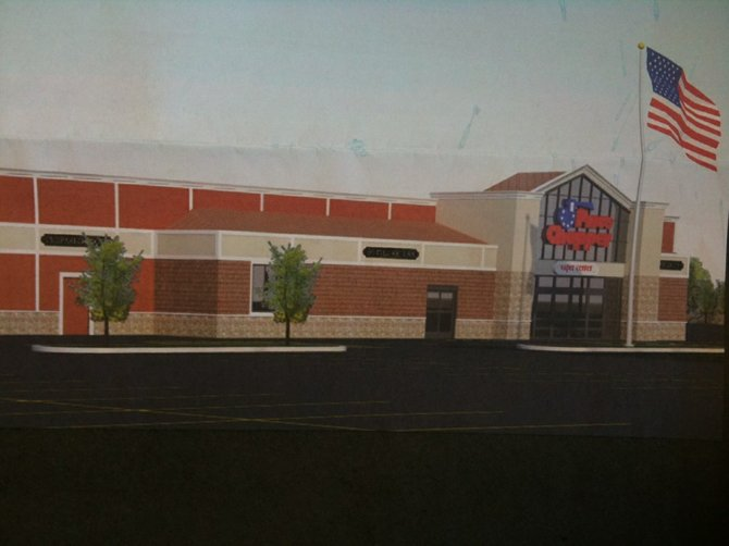 Plans submitted to the Lake George Planning Board depict a 30,000-square-foot Price Chopper Supermarket to be built just south of Warrensburg off Rte. 9 near the intersection of Prosser Road — across from McDonalds Restaurant.