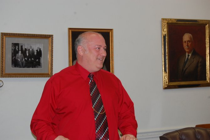 Plattsburgh Common Council member Tim Carpenter helped create the plan that put the wheels in motion to save positions and the Plattsburgh Public Library.
