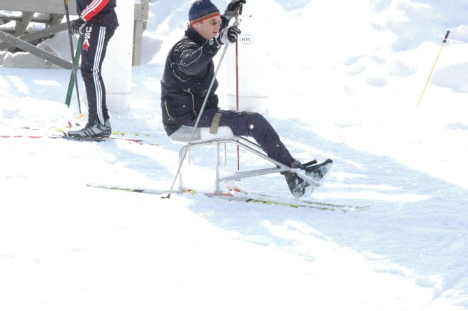 Adaptive cross country skiing was one of the new events at the Empire State Games, which lost state funding but thrived with local support.