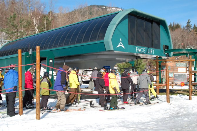 Skiers at Whiteface have been flocking to the lift line since Thanksgiving, and are hoping a good weekend of winter weather allows them to expand their trail offerings.