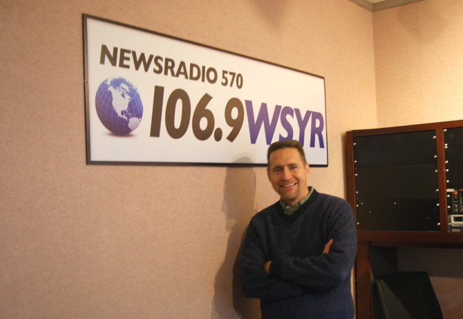 Bob Lonsberry is heading to Newsradio 570, 106.9 WSYR to begin a Syracuse broadcast.